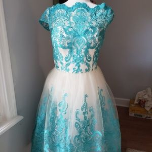 Exquisite Elegance Dress Chi Chi London